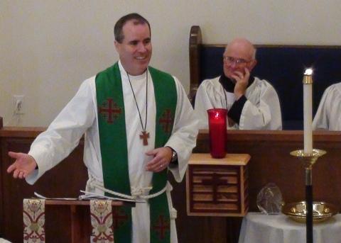 Craig Preaching july 2013