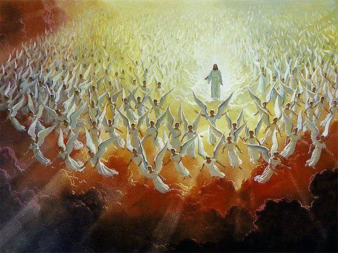 jesus-the-angels-on-rapture-day